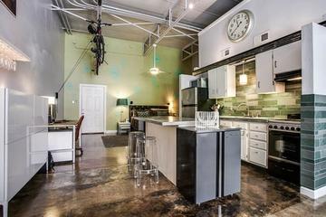 73平开放式混搭公寓欣赏厨房效果