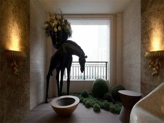 新古典风格经典住宅欣赏阳台