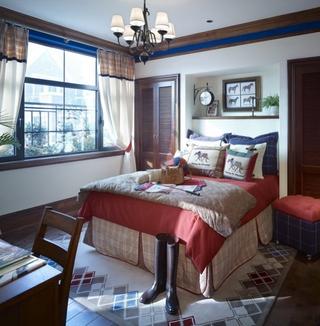 美式风格住宅装修效果图设计儿童房