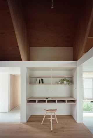 日式光之住宅欣赏书房设计