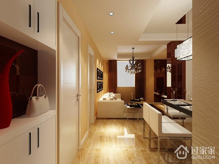 81平新中式二居室装修案例