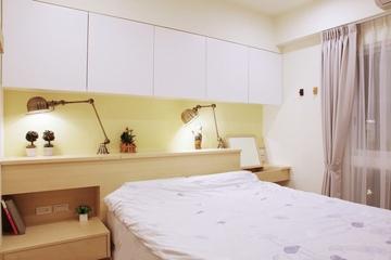 白色清爽日式风格欣赏卧室设计