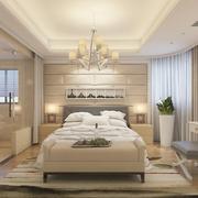 低调奢华风 现代客厅灯饰效果图