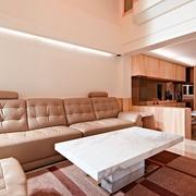 124平日式风格住宅欣赏客厅效果