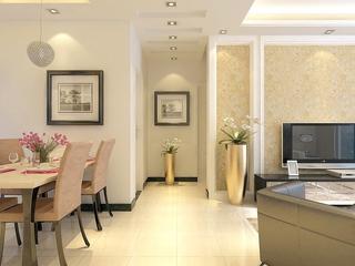 客厅过道吊顶设计效果图 温馨现代家居