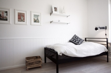 白色北欧风情住宅欣赏儿童房设计