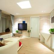 7.6万打造简约住宅欣赏客厅设计
