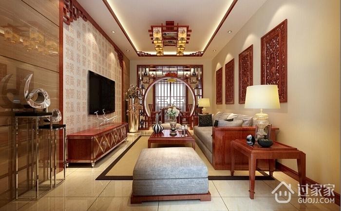 117平新中式风住宅欣赏