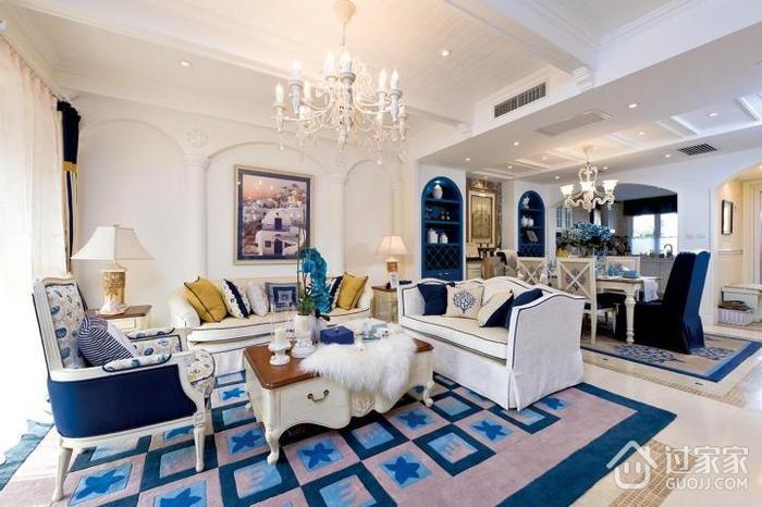 蓝白地中海住宅欣赏