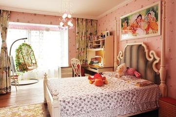 140平新中式风格住宅欣赏儿童房