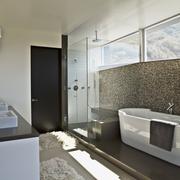 现代简约风别墅设计图卫浴间