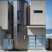现代环保别墅外墙
