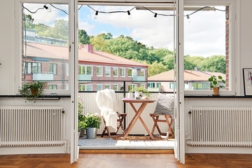北欧风格一居室欣赏阳台