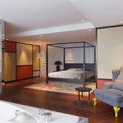 简约设计卧室效果图