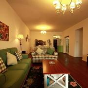 温馨美式客厅灯饰效果图 多彩家居生活