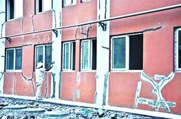 房屋出现墙体裂缝的原因及处理方法