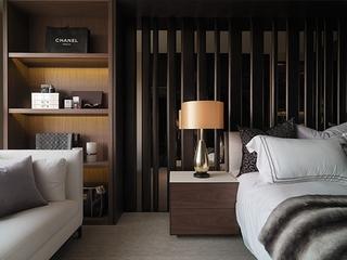 现代墨然住宅设计套图卧室局部