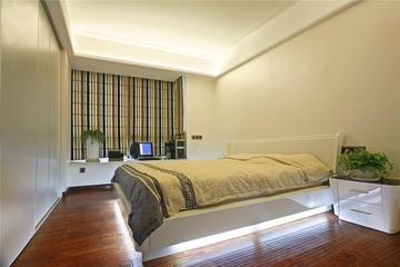 115平经典欧式三居欣赏卧室效果