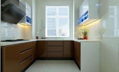 107平简约三室两厅住宅欣赏厨房