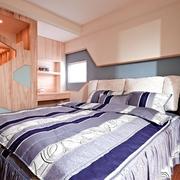 124平日式风格住宅欣赏卧室效果