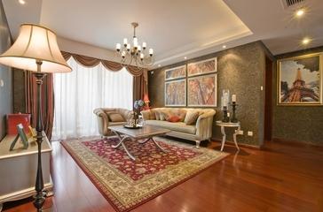 典雅法式装饰住宅欣赏客厅