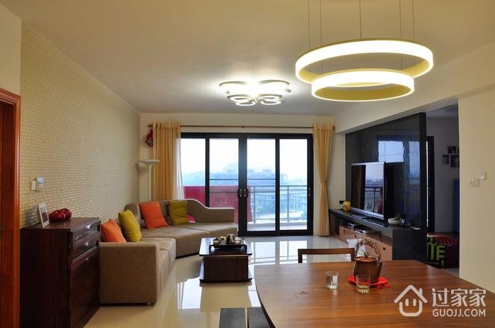 简约风客厅沙发装修效果图 极简空间