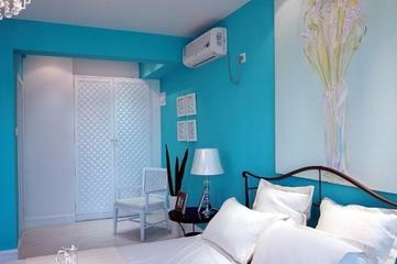 蓝色海湾现代住宅欣赏卧室局部