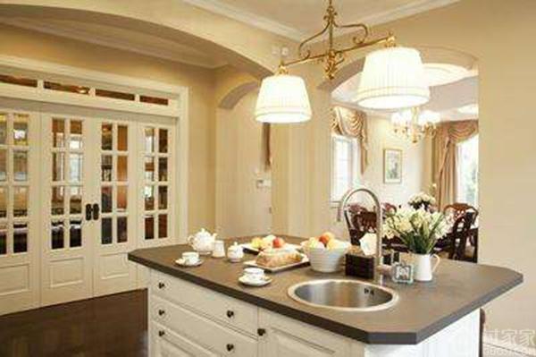 审美意识不断提高,居室环境变得更加舒适!欧式风格厨房装修