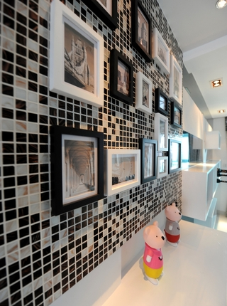 现代设计80后公寓欣赏厨房局部