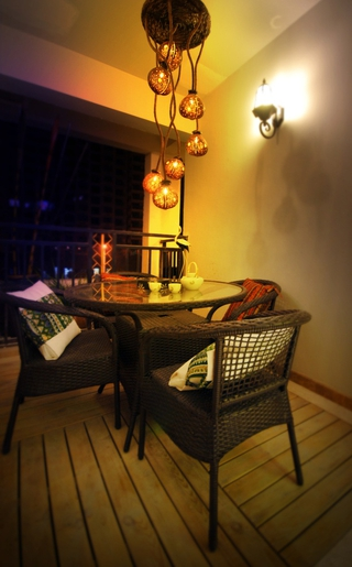东南亚风格效果图欣赏餐厅