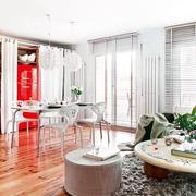 老房改造简约三居室欣赏客厅陈设