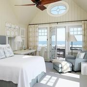 90平小清新欧式欣赏卧室