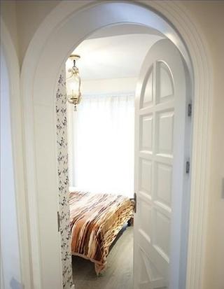 白色地中海家居住宅欣赏卧室陈设