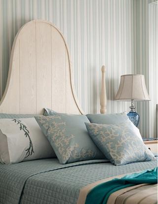 地中海清凉一夏住宅欣赏卧室