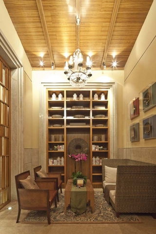 东南亚风格住宅茶室