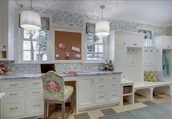奢华清爽美式别墅欣赏洗手间
