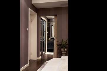 现代风格装修卧室