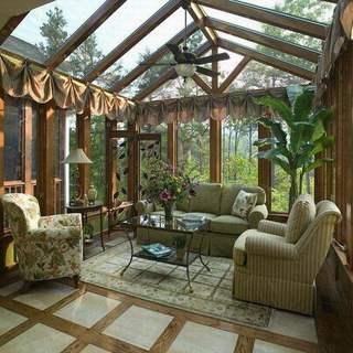 阳光房家具选材案例: 那些美好的憧憬