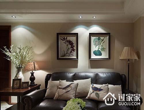 现代美式风格空间特色及搭配