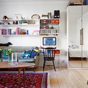 缤纷色彩单身公寓欣赏客厅