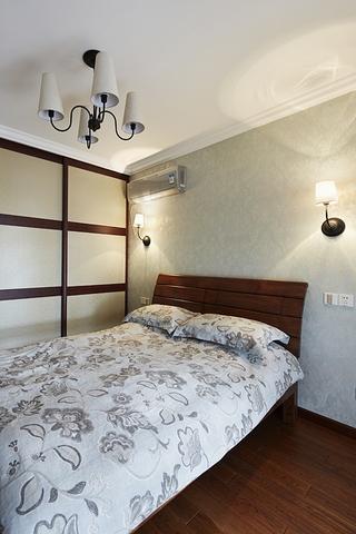 100平简约三室两厅欣赏卧室效果图