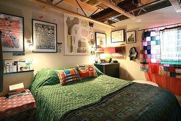 绿色简约生活气息欣赏卧室照片墙