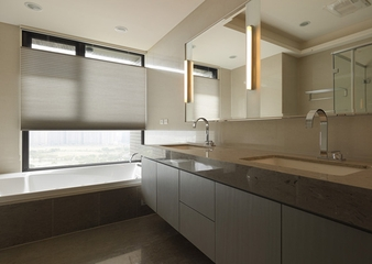 简约效果图温馨设计住宅赏析洗手间