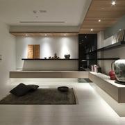 现代风三居室设计欣赏过道背景墙