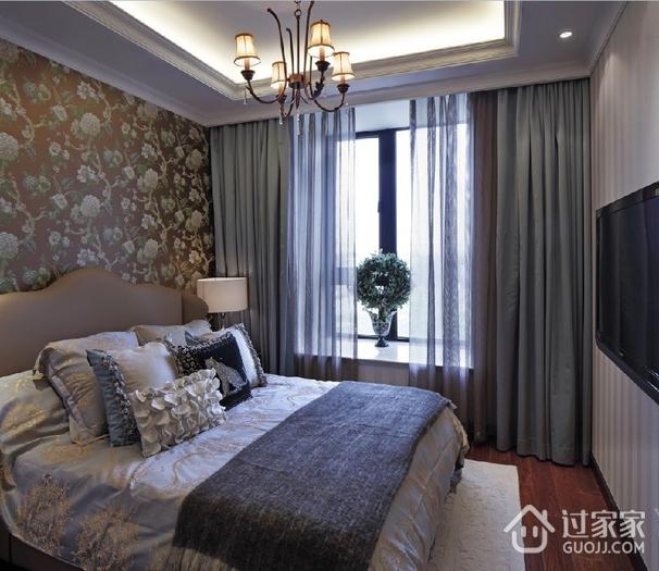 奢华新古典风格欣赏卧室吊顶