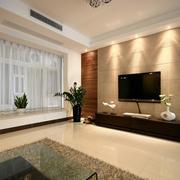 现代风格住宅效果图飘窗