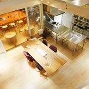 清新MIUI复式楼欣赏餐厅