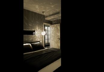 现代风格装修卧室效果图