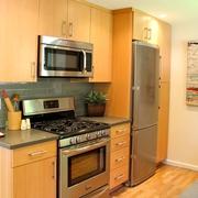 简约风风格设计图厨房橱柜