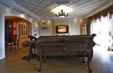 115平混搭三室两厅欣赏客厅效果